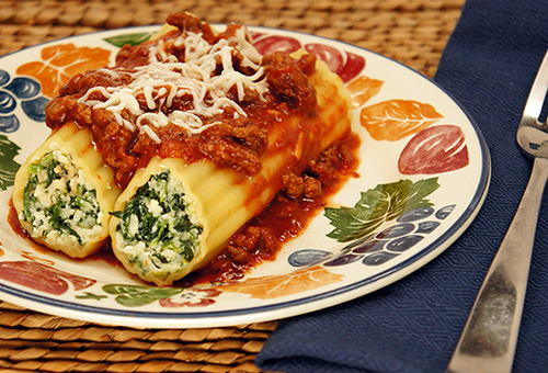 American Beauty 174 Don T Cook The Pasta Manicotti